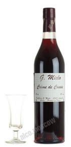Miclo Creme de Cassis ликер черносмородиновый Крем де Кассис