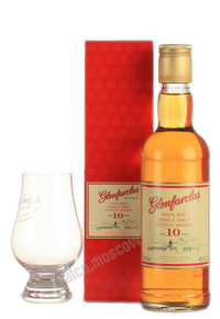 Glenfarclas 10 years old 350ml виски Гленфарклас 10 лет 350 мл