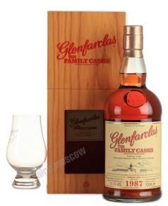 Glenfarclas Family Cask 1987 виски Гленфарклас Фамили Каск 1987 года