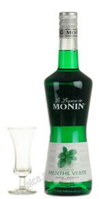 Ликер Зеленое Мята Джордж Монин Ликер Menthe Verde Monin