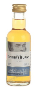 Robert Burns виски Роберт Бернс 0.05 л