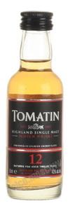 Tomatin 12 years виски Томатин 12 лет 0.05л