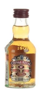 Chivas Regal 12 years old виски Чивас Регал 12 лет 0.05л