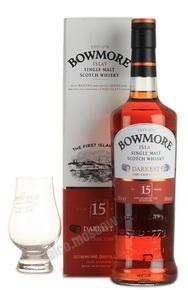 Bowmore 15 years виски Бомо 15 лет