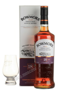 Bowmore 18 years виски Бомо 18 лет