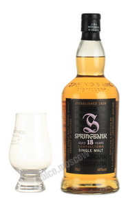 Springbank 18 years виски Спрингбэнк 18 лет