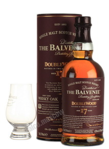 Balvenie Doublewood 17 Years Old 0,7l Виски Балвэни Даблвуд 17 лет 0,7л в тубе