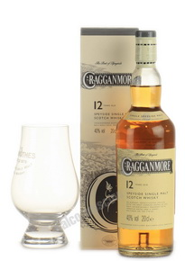 Cragganmore 12 years 200 ml виски Краганмор 12 лет 0.2 л