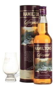 Hamilton`s Speyside виски Гамильтонс Спейсайд в тубе