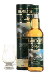 Hamilton`s Islay виски Гамильтонс Айла в тубе