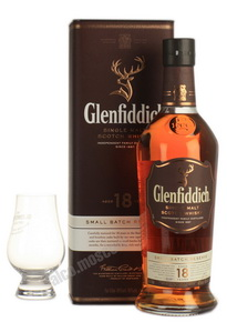 Glenfiddich 18 years old виски Гленфиддик 18 лет