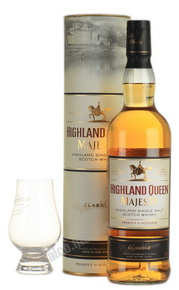 Highland Queen Majesty Classic 0,7l Виски Хайленд Куин Мэджести Классик 0,7л в тубе