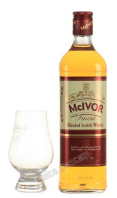 Mc Ivor 3 years 700 ml виски Мак Айвор 3 года 0.7 л