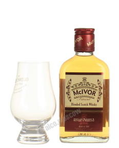 Mc Ivor 3 years 200 ml виски Мак Айвор 3 года 0.2 л
