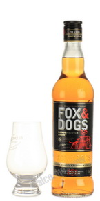 Fox & Dogs 500 ml виски Фокс энд Дог 0.5 л