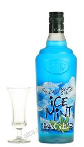 Ликер Ice Mint Ликер Пажес Айс Минт