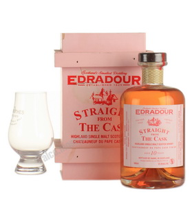 Edradour Chateauneuf-du-Pape Cask Finish 10 Years 2002 виски Эдраду Шатонеф-дю-Пап Каск Финиш 10 лет 2002