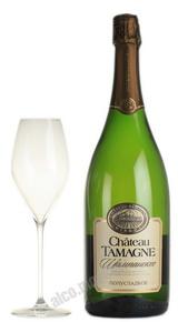 Chateau Tamagne российское шампанское Шато Тамань полусладкое 1.5 л