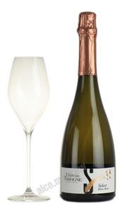 Chateau Tamagne Select Blanc российское шампанское Шато Тамань Селект Блан