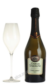 Chateau Tamagne Riesling российское шампанское Шато Тамань Рислинг