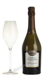 Шампанское Chateau Tamagne российское шампанское Шато Тамань брют 0.75 л