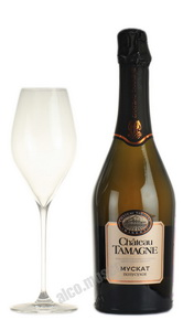 Chateau Tamagne Muscat шампанское Шато Тамань Мускат