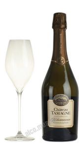 Шампанское Chateau Tamagne российское шампанское Шато Тамань полусладкое 0.75 л
