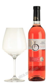 Chateau Tamagne Duo российское вино Шато Тамань Дуо сухое розовое