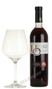 Chateau Tamagne Duo российское вино Шато Тамань Дуо сухое красное