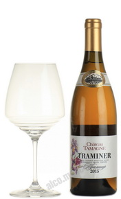 Chateau Tamagne Traminer российское вино Шато Тамань Траминер