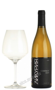 Likuria Sauvignon Blanc 2015 российское вино Ликурия Совиньон Блан 2015