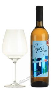Российское вино Саук-Дере белое сухое