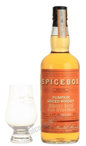 Spicebox Pumpkin виски Спайсбокс Тыква 0.75 л