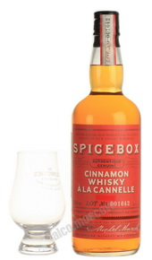 Spicebox Cinnamon виски Спайсбокс Корица 0.75 л
