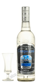 Campo Azul Especial Blanco 100 % Agave текила Кампо Азул Эспесьяль Бланко 100% агава