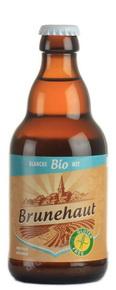 Brunehaut Blanche Bio пиво Брюнехаут Бланш Био светлое 0.33 л.