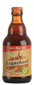 Brunehaut Ambree Bio пиво Брюнехаут Амбре Био светлое 0.33 л.