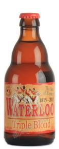 Waterloo Triple Blond пиво Ватерлоо Трипл Блонд темное 0.33 л.