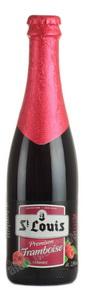 St. Louis Framboise пиво Святой Луи Фрамбуа Малиновое темное