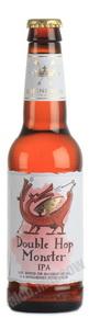 Double Hop Monster IPA пиво Дабл Хоп Монстр ИПА светлое фильтрованное пастеризованное 0.33 л.