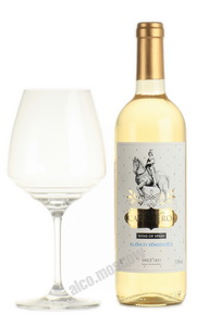 Masia De Los Caballeros Blanco Semidulce испанское вино Масиа Дэ Лос Кабальерос