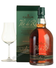 Camus Ile De Re Double Matured 3 yrs 0,7l Коньяк Камю Иль Де Ре Дабл Мэчр 3 года 0,7л в п/у