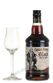 Captain Morgan Black Spiced ром Капитан Морган Черный Пряный