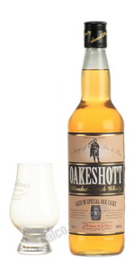 Oakeshott 700 ml виски Оакшотт 0.7 л