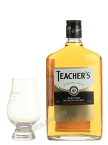 Teachers Highland Cream 0.5l виски Тичерс Хайленд Крим 0.5 л фляжка