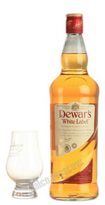 Dewars White Label 1l виски Дьюарс Вайт Лэйбл
