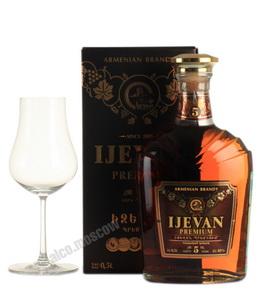 Ijevan Premium 5 yrs 0,5l Коньяк Иджеван Премиум 5 лет 0,5л п/у