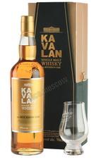 Kavalan ex-Bourbon Oak 0.7l Виски Кавалан экс-Бурбон Оук 0.7л