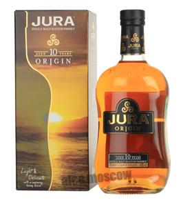 Isle of Jura 10 years виски Айл оф Джура 10 лет