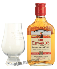 Sir Edward Finest виски Сэр Эдвард Файнест 0.2л